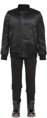 Mackage Penn-T Unisex Satin Bomber Jacket