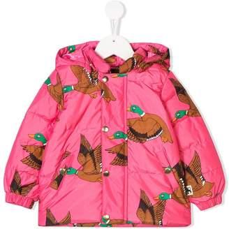 Mini Rodini duck print rain jacket