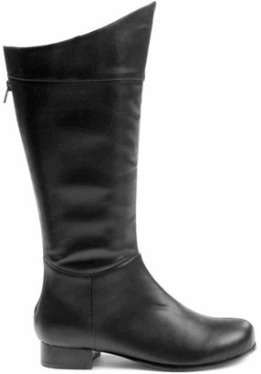 ELLIE SHOES Shazam Black Boots Men's Adult Halloween Costume Accessory