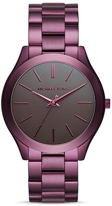 Michael Kors Slim Runway Bracelet Watch, 42mm $195 thestylecure.com