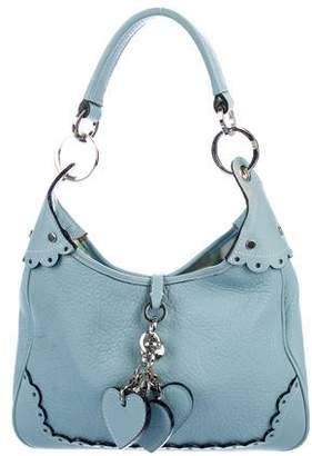 Pre Owned At Therealreal Luella Embossed Leather Shoulder Bag