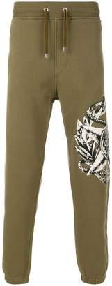 Just Cavalli star and animal print sweatpants