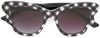 Mcq By Alexander Mcqueen Eyewear check detail sunglasses