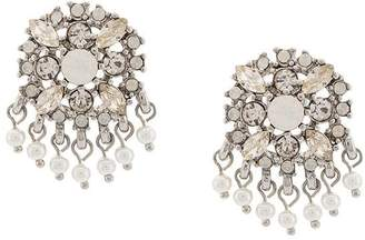 Marchesa beaded crystal studs