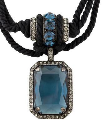 Lanvin Statement Pendant Necklace $375 thestylecure.com