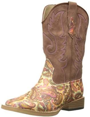 Roper Girls Glitter Square Toe Cowgirl Boot Western