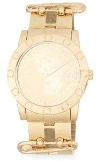 Versace Miami Stainless Steel Bracelet Watch