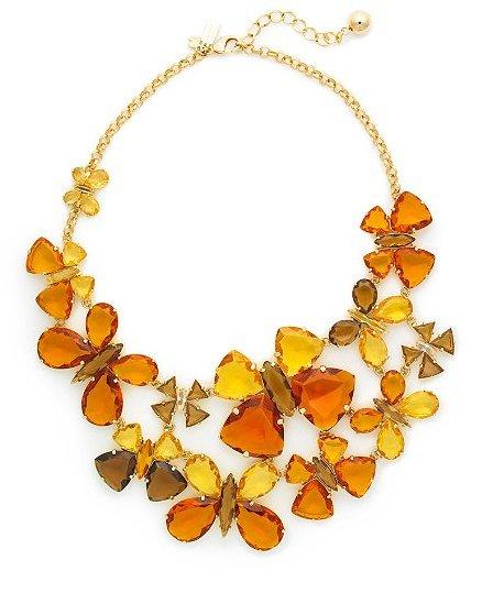 Fly girl bib necklace