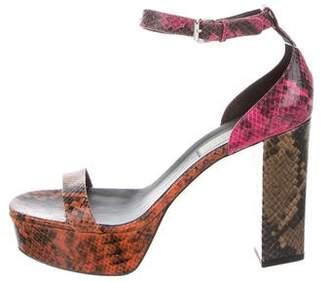 Stella McCartney Vegan Ankle Strap Sandals