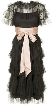 Needle & Thread scallop tulle dress