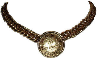 One Kings Lane Vintage Chanel Address Coin Necklace - Treasure Trove NYC