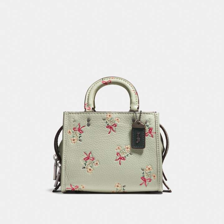 Coach Rogue 17 With Floral Bow Print