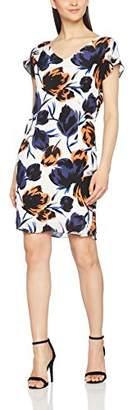 Coster Copenhagen Women's Dress W. Dart in Big Flower Print, Multicoloured 520, (Size:42)
