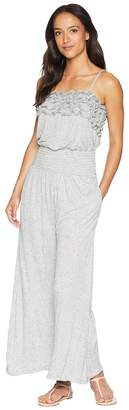 Rebecca Taylor Sleeveless Jersey Jumpsuit Women's Jumpsuit & Rompers One Piece