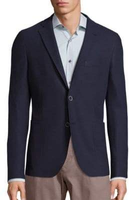 Saks Fifth Avenue COLLECTION Solid Knit Sportcoat