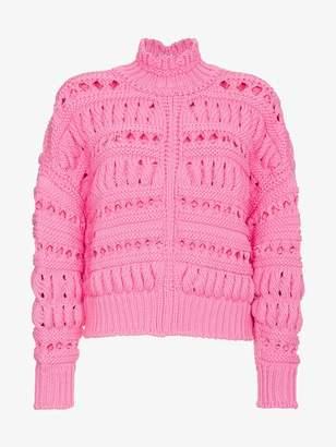 Isabel Marant Thick knit oversized jumper