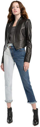 Alice + Olivia (アリス オリビア) - Alice+olivia New Harvey Leather Open Front Jacket