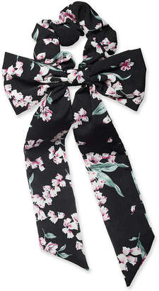 INC International Concepts I.N.C. Flower-Print Big Bow Ponytail Holder, Created for Macy's