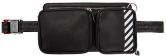 Off-White Black Diag Hip Bag