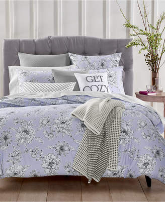 Charter Club Damask Designs Floral 3-Pc. Full/Queen Duvet Set, Created for Macy's Bedding