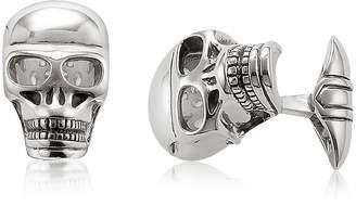 Thomas Sabo Blackened 925 Sterling silver Skull Cufflinks