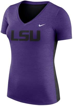 Nike Women's LSU Tigers Dri-FIT Touch Tee