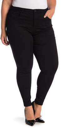 Democracy High Rise Tummy Control Ankle Skinny Jean (Plus Size)