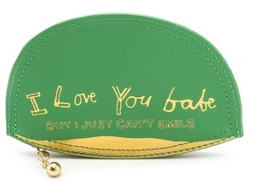 Paris House If You Love Me Coin Purse