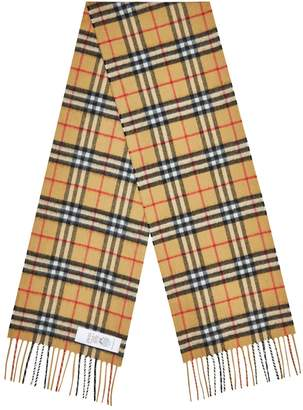 Burberry The Mini Classic Vintage Check Scarf