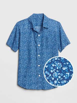 Gap Kids Print Short Sleeve Shirt