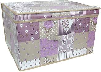 Very Printed Vintage Patchwork Storage Box