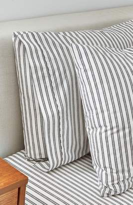 Splendid HOME DECOR Ticking Stripe Set of 2 Pillowcases