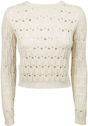 Carven Textured Knit Sweater