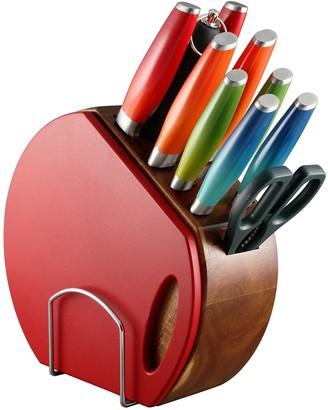 Fiesta Ombre 12-pc. Knife Block Set