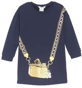 Little Marc Jacobs Trompe L'Oeil Sweatshirt Dress
