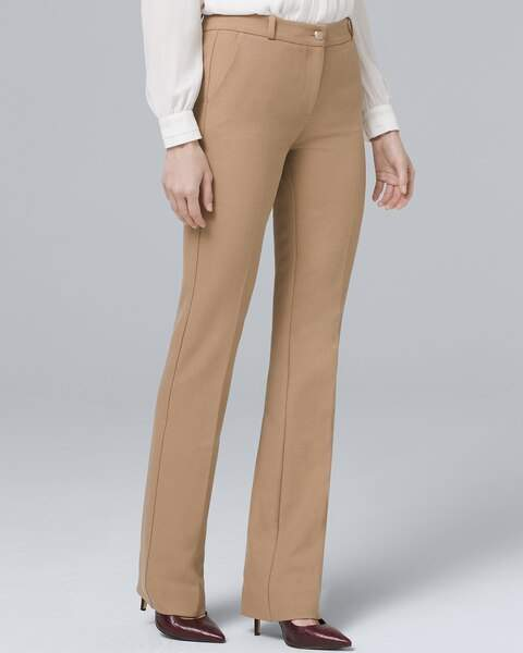 Whbm Luxe Suiting Bootcut Pants