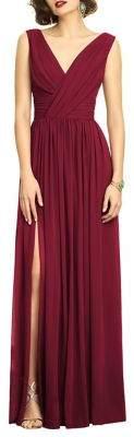 Dessy Collection Classic Chiffon Bridesmaid Dress