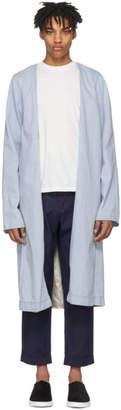 Bobson Wheir Blue Denim Robe Coat