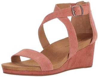 Lucky Brand Women's Kenadee Wedge Sandal
