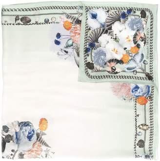 Alexander McQueen shell printed scarf