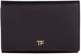 Tom Ford Leather Flap Wallet