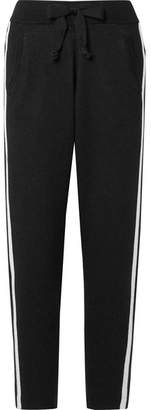 ATM Anthony Thomas Melillo Striped Cotton-blend Track Pants