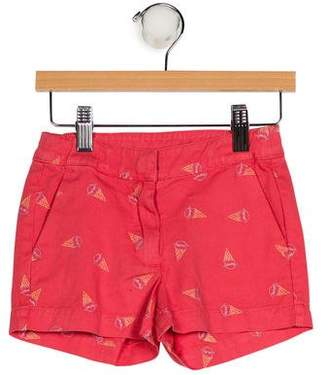 Stella McCartney Girls' Printed Denim Shorts w/ Tags