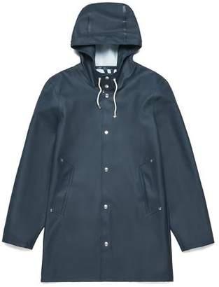 Stutterheim Stockholm Basic Raincoat in Navy