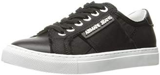 Armani Jeans Women's Fabric Sneaker Fashion