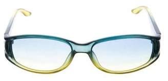Christian Dior Oval Tinted Sunglasses