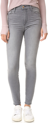 Joe's Jeans Charlie High Rise Skinny Ankle Jeans $189 thestylecure.com