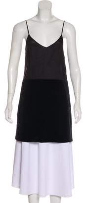 See by Chloe Paneled Sleeveless Tunic