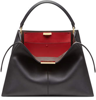 Fendi Peekaboo X-Lite Soft Calf Satchel Bag