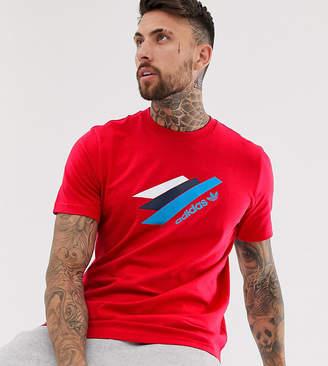 adidas Palemston t-shirt in red